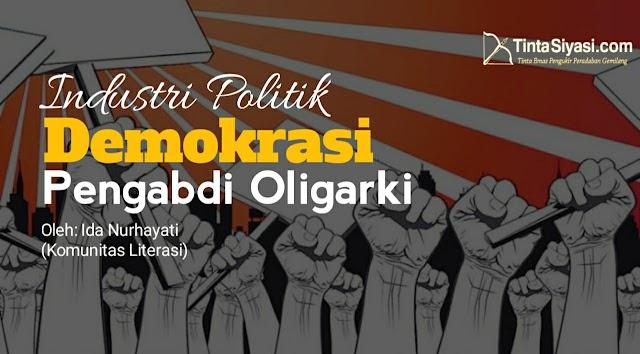 Industri Politik Demokrasi, Pengabdi Oligarki