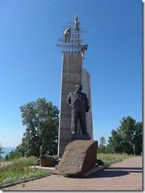 Bratsk architecte du barrage Ivan Ivanovitch Naimoutchin