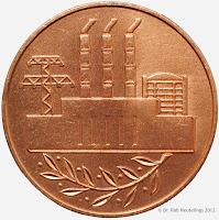 240a Medaille für Verdienste in der Energiewirtschaft der Deutschen Demokratischen Republik in Bronze www.ddrmedailles.nl