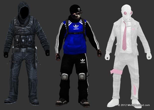 Перекраска персонажей