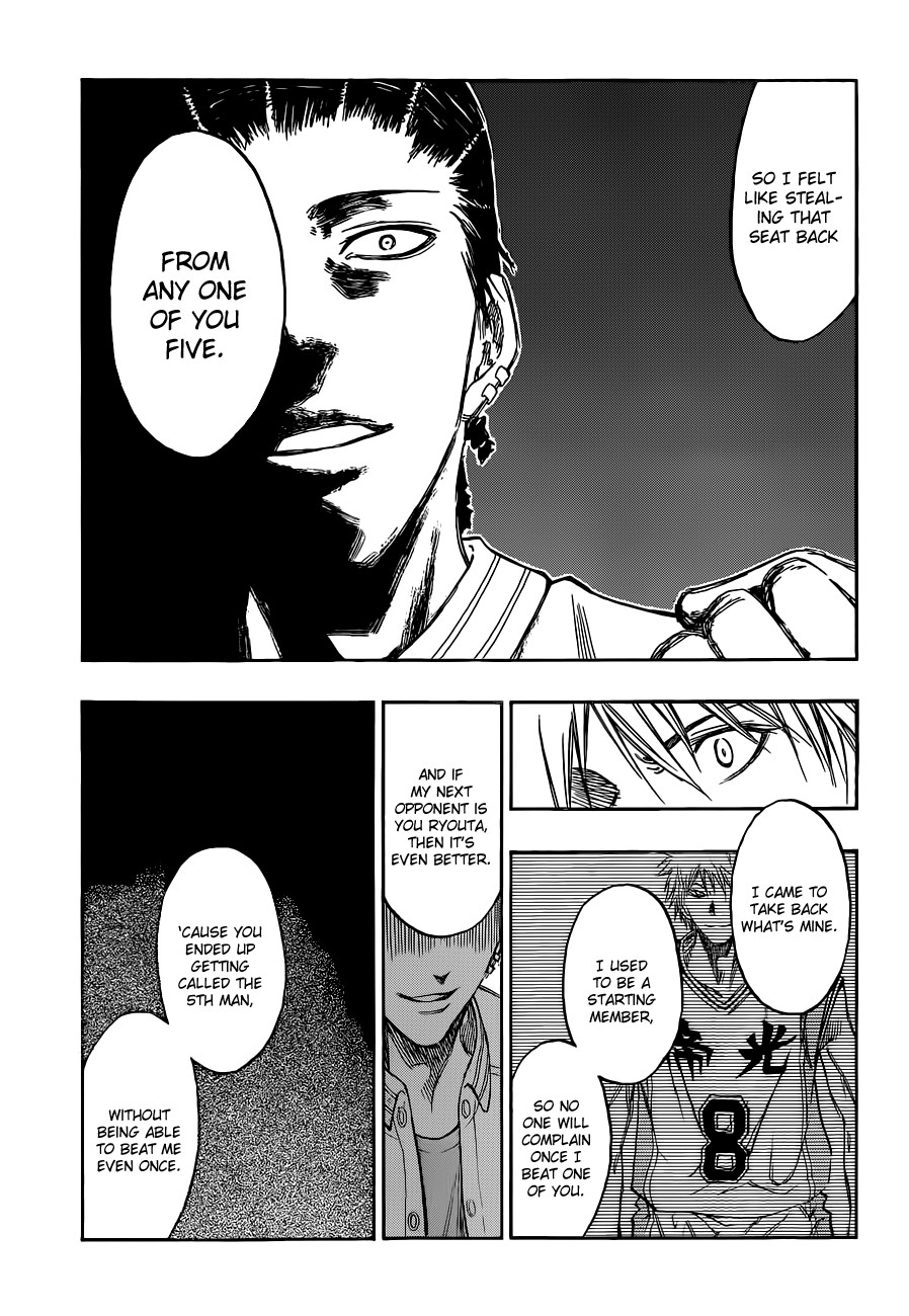 Kuroko no Basket Manga Chapter 170 - Image 13