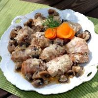 roladki z piersi drobiowych w sosie z mascarpone