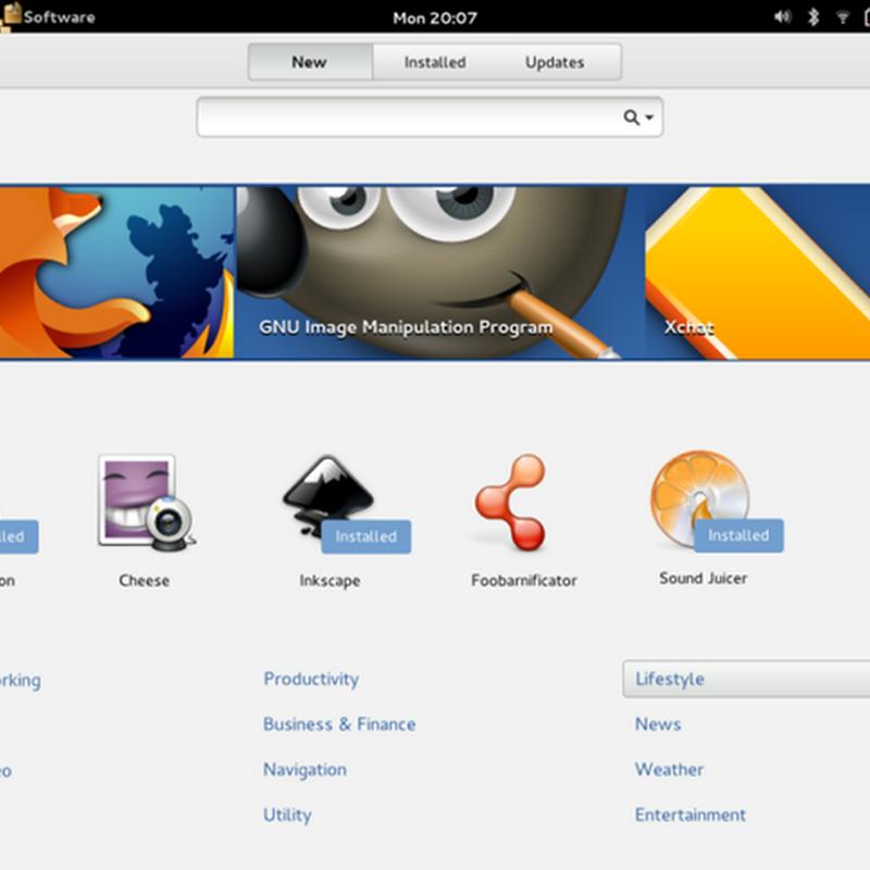El nuevo centro de software de Ubuntu 16.04 Xenial Xerus.