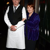 WWW.ENTSIMAGES.COM -   Julian Glover and  Isla Blair   at        One Night Only - charity event at The Ivy, 1-5 West Street, London December 1st 2013                                               Photo Mobis Photos/OIC 0203 174 1069