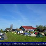 019-Donderd. 8 mei-We varen met Michel Rasenberg als toerleider van Idzega naar Oudega en Heeg.