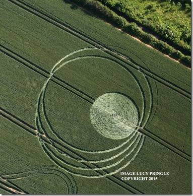 crop circle  Wroughton-W-Woods-G