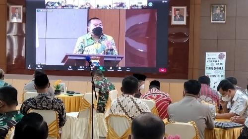Cegah Covid-19, Bupati dan Walikota Sepakat Dukung Nagari Tageh