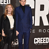 OIC - ENTSIMAGES.COM - Josephine De La Baume and Mark Ronson at the  Creed - UK film premiere at the Empire Leicester Sq London 12th January 2016 Photo Mobis Photos/OIC 0203 174 1069