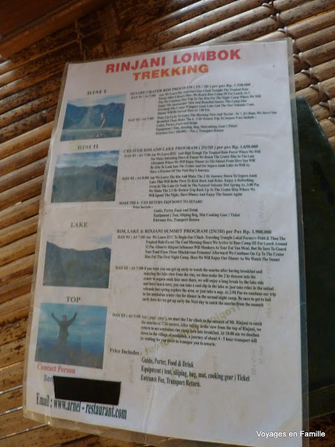 Trekking program
