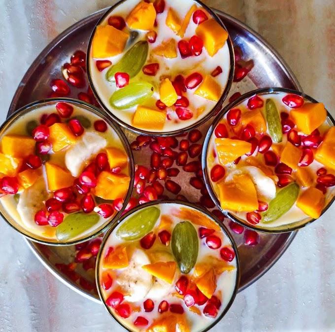 Fruit Custard Recipe | Breakfast Care