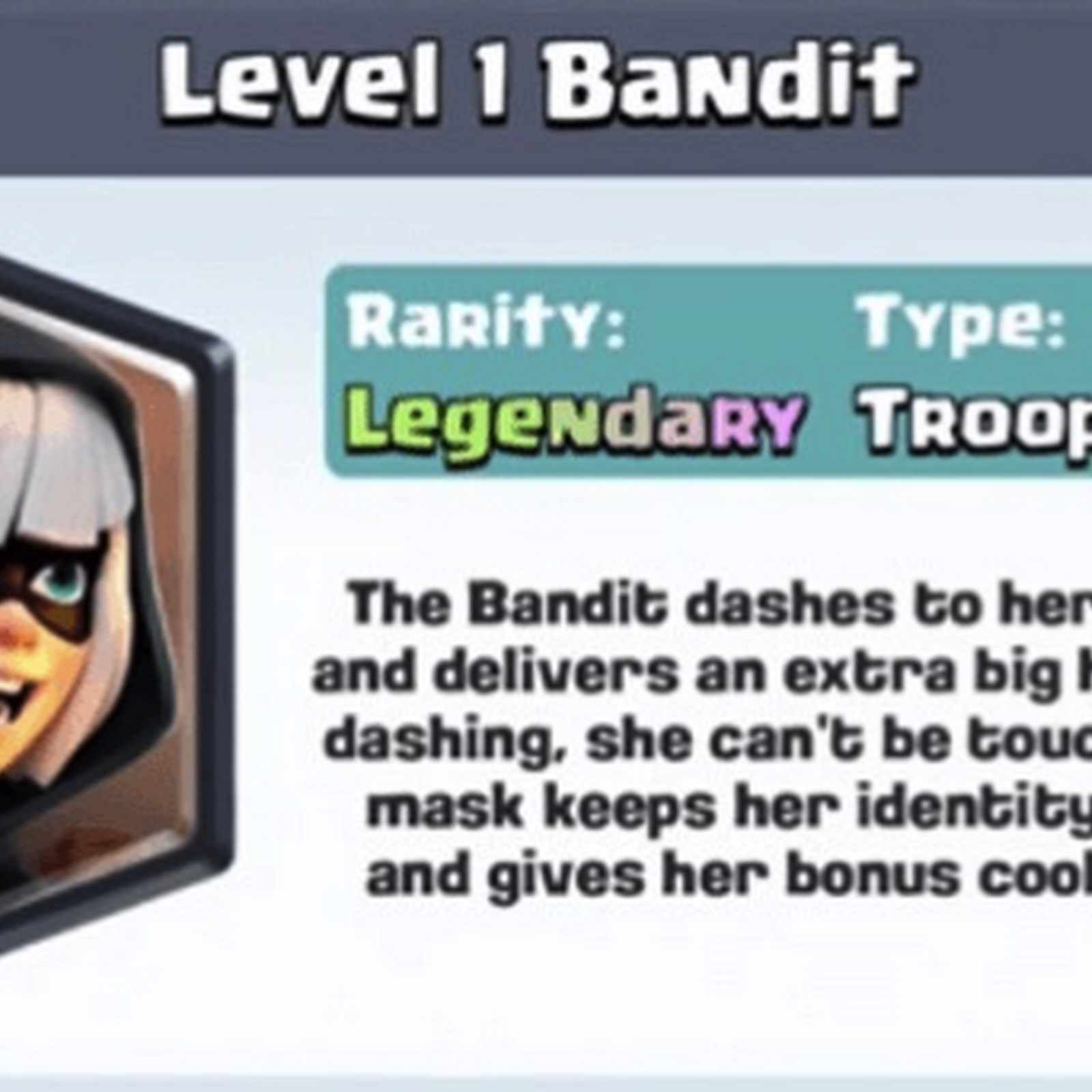 Bandit, Night Witch, Bats and Heal new card [Update]