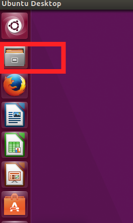 Highlight from Ubuntu of Nautilus file manager