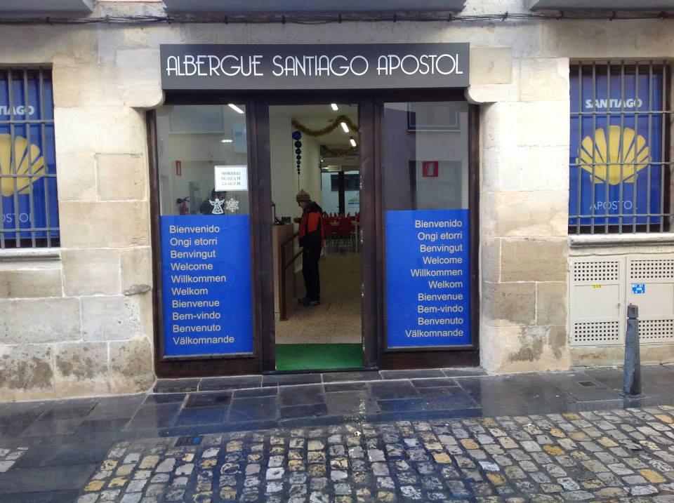Albergue de peregrinos Santiago Apóstol, Logroño, La Rioja, Camino de Santiago