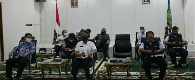 Rapat Forum Koordinasi Kehumasan Kalimantan - Sulawesi Digelar di Barut