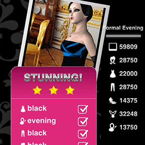 Style Me Girl Level 32 - Formal Evening - Karma - Stunning! Three Stars