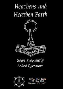 Cover of The Troth's Book Heathens and Heathen Faith Some Frequently Asked Questions