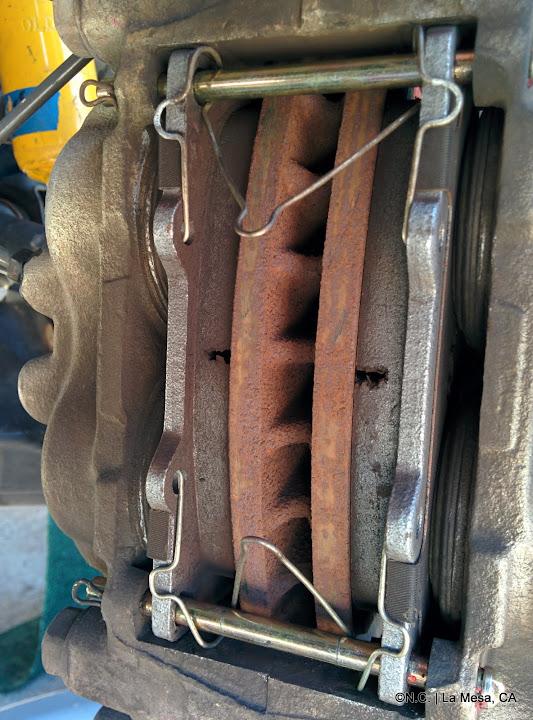 how to change brake rotora