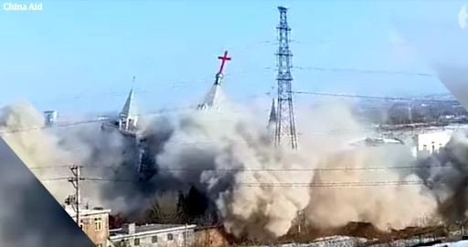 Chinese authorities demolish Christian mega-church sparking fears of religious persecution