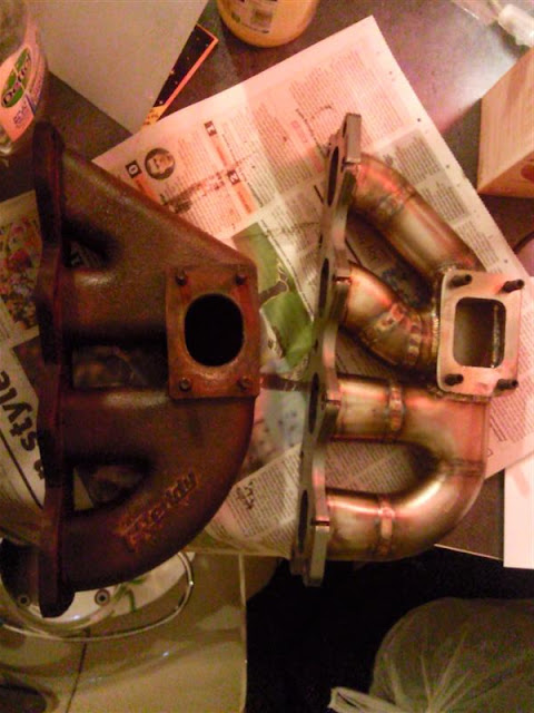 Greddy Turbo Kit Manifold Replacement - MX-5 / Roadster