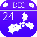 Christmas Holly Countdown icon