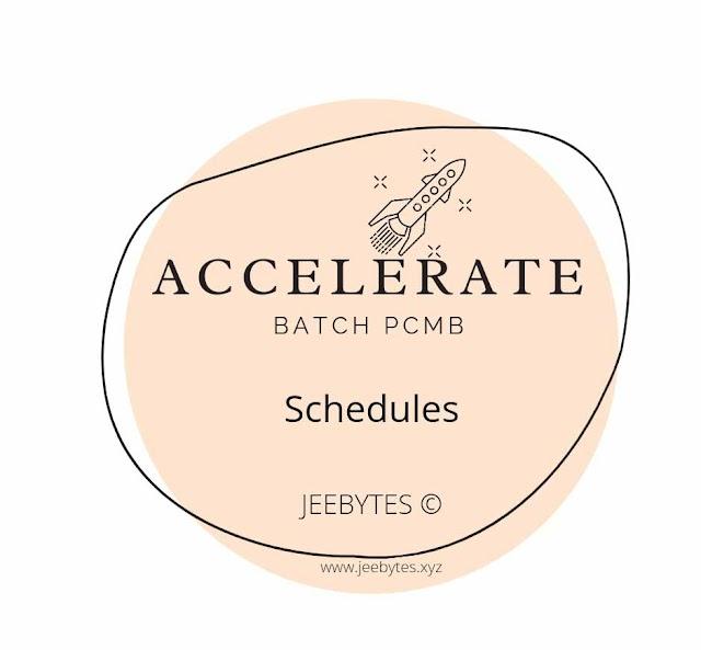 Accelerate Batch PCM/PCB Schedules