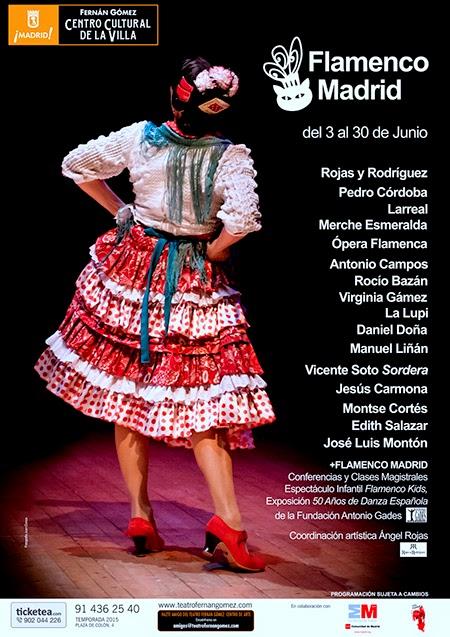 Festival Flamenco Madrid, en el Fernán Gómez. Centro Cultural de la Villa