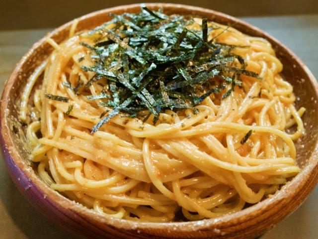 ウニとタラコのスパゲティ