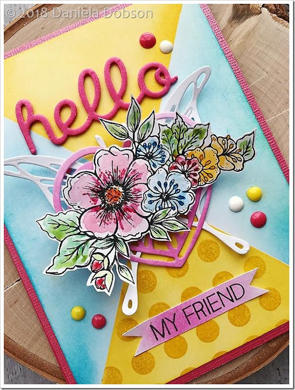 Hello friend close  by Daniela Dobson