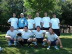 Turnier in Quierschied 2010 - Hintere Reihe (v.l): Bernd, Martin, Nico, Markus, Ulli, Thomas - Vordere Reihe (v.l): Michael, Thomas, Andreas, Maurice