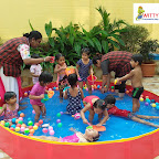 Waterplay Activity For Playgroup Section, ( 18-19 ) ,Witty World, Goregaon East