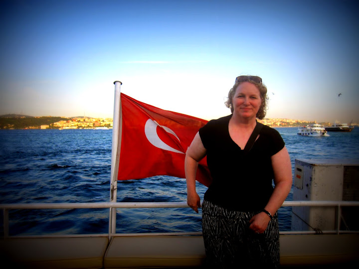 Cruising on the Bosphorus.