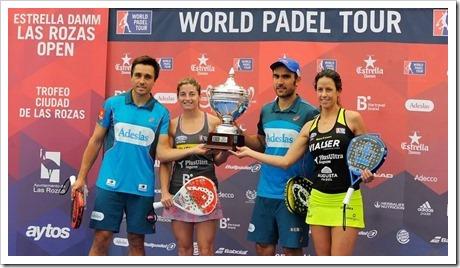 Bela-Lima y Salazar-Marrero campeones del Estrella Damm Las Rozas Open WPT 2016.