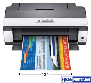 Reset Epson WorkForce 1100 lazer printer with software