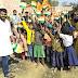 गिद्धौर : एबीवीपी ने बच्चों के साथ मनाया गणतंत्र दिवस, बांटे झंडे-मिठाई