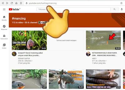 Cara Mencari Video di Youtube Menggunakan Hashtag (#) dengan Mudah