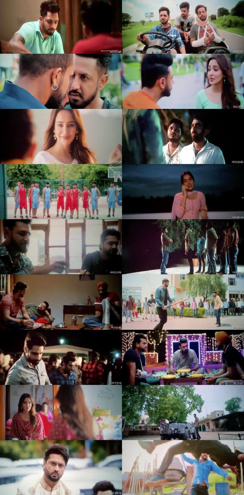 Screen Shot Of Ik Sandhu Hunda Si 2020 Full Movie Free Download HD 720P Watch Online
