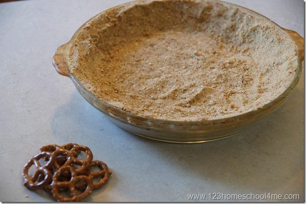 easy to make pretzel crust recipe