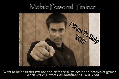 Mobile Personal Trainer Medford Oregon 541-621-7232