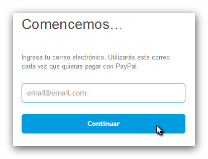 Correo PayPal
