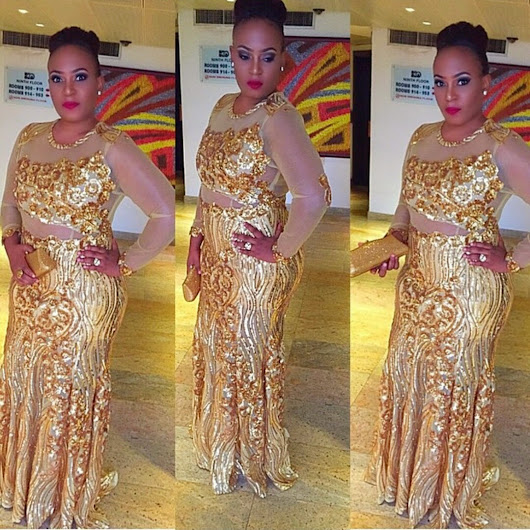 Curvy Red Carpet Looks at The 2015 African Magic Viewers Choice Award (AMVCA)