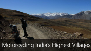 Motorcycling through India's Highest Villages