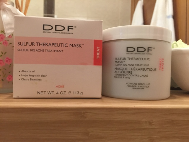 DDF Sülfürlü Kil Maskesi