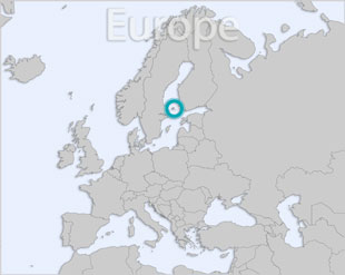 Aland location map