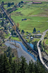 Please credit Paul K. Anderson The tiny town of Blanchard, Washington (childhood home of Edward R. Murrow) like hundreds of towns, receives no economic benefit but will pay external costs - health issues, excessive noise, safety related costs and delayed emergency response.