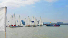 J/80 one-design sailboats- starting in China Club Cup off Xiamen