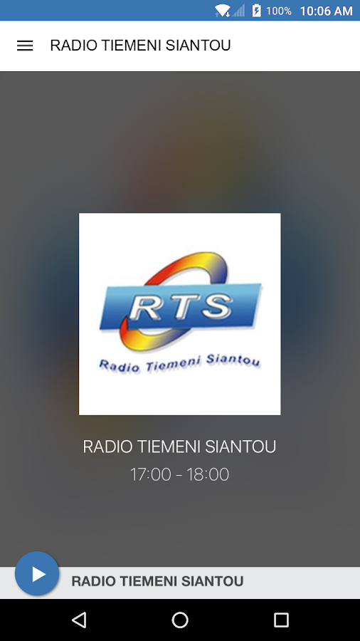 RADIO TIEMENI SIANTOU- screenshot