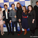 WWW.ENTSIMAGES.COM -  Andrew Scott and the cast of Pride     at   Terrence Higgins Trust's 'The Supper Club' after-party at Underglobe, Bankside London October 8th 2014This year's Supper Club in aid of  HIV and sexual health charity Terrence Higgins Trust. The Supper Club' is an annual foodie event where celebrities and Terrence Higgins Trust supporters invite their friends to dine with them at 50 of London's most iconic restaurants. On the night guests will be treated to an exquisite dinner, before being whisked away to a star-studded after-party, featuring cocktails, superb entertainment by British singer- song writer Chloe Howl, and dancing at the Underglobe.                                                Photo Mobis Photos/OIC 0203 174 1069