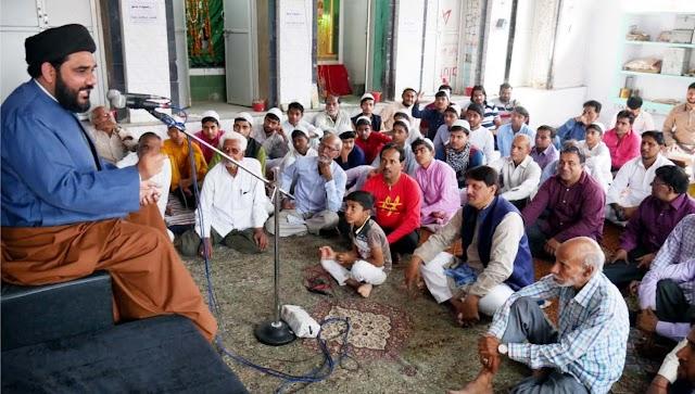 रशीदा बानो की मजलिस आयोजित, जुटे तमाम दिग्गज