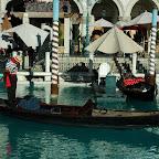 Het Venetian, met gondels