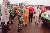 Gubernur Sumur  Edy Rahmayadi Apresiasi KSJ Ikut Apel Gelar Pasukan Penanggulangan Bencana Daerah